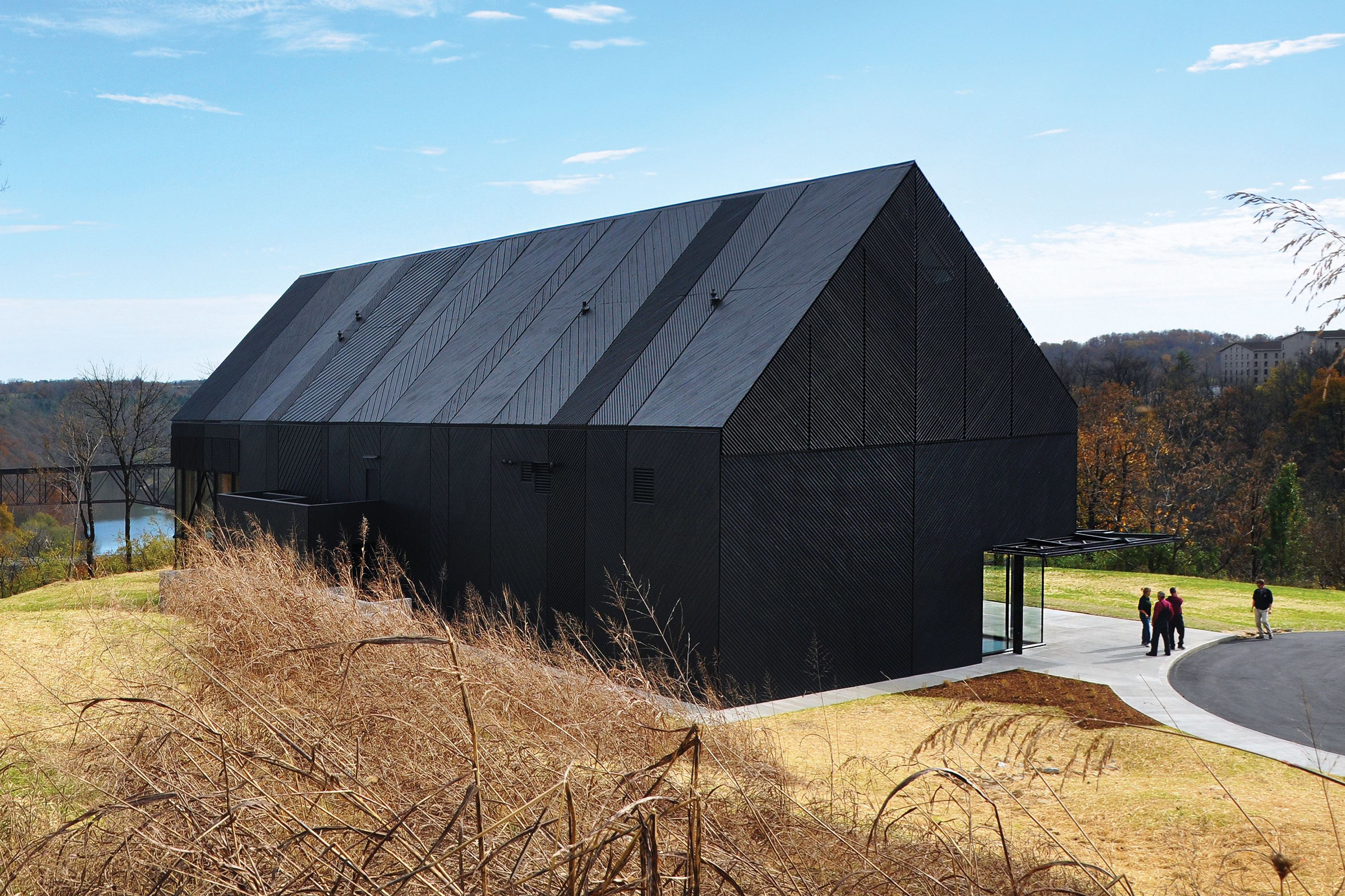 Wild Turkey Bourbon Visitor Center Architect Magazine