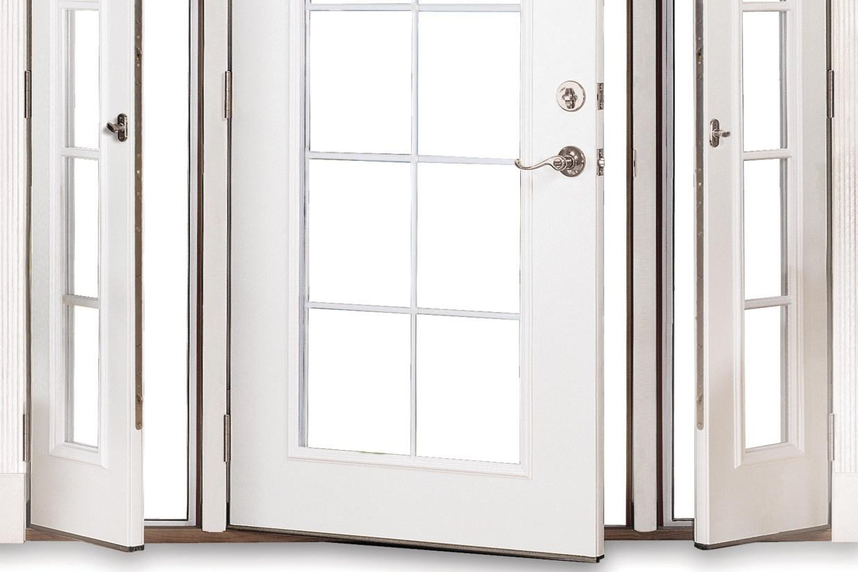 825 #382822 Therma Tru Vented Sidelites Builder Magazine Products Doors  save image Fiberglass Entry Doors With Sidelites 42671237