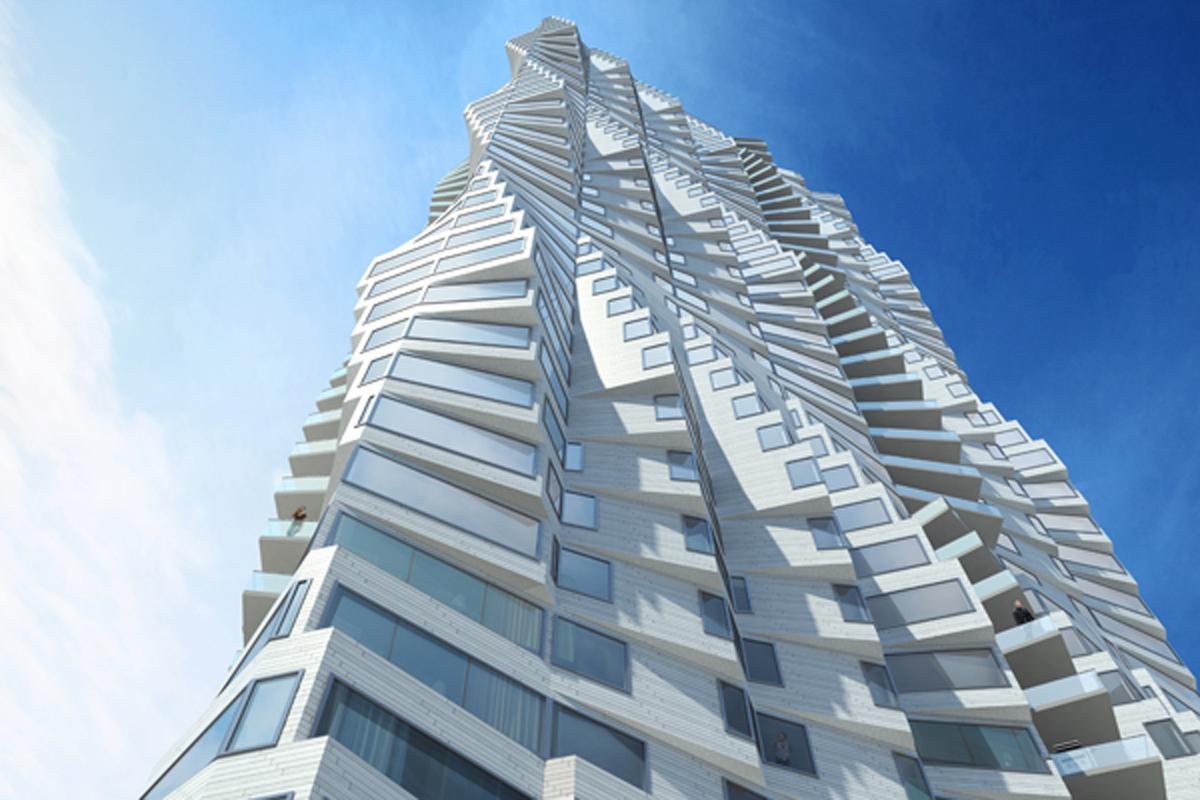 Folsom bay tower architect magazine studio gang architects san francisco calif - Bay architecture ...