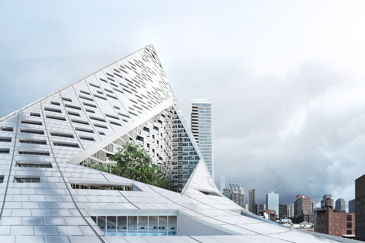 Via 57 west architect magazine bjarke ingels group for Big architecte
