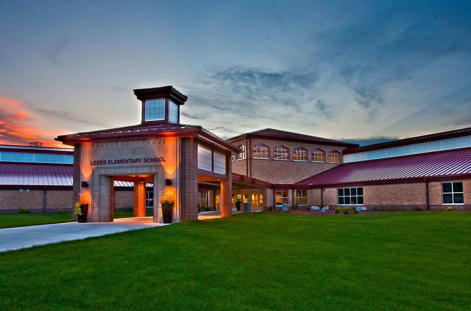 Leeds Elementary School Residential Architect Feh Associates Inc Sioux City Ia United