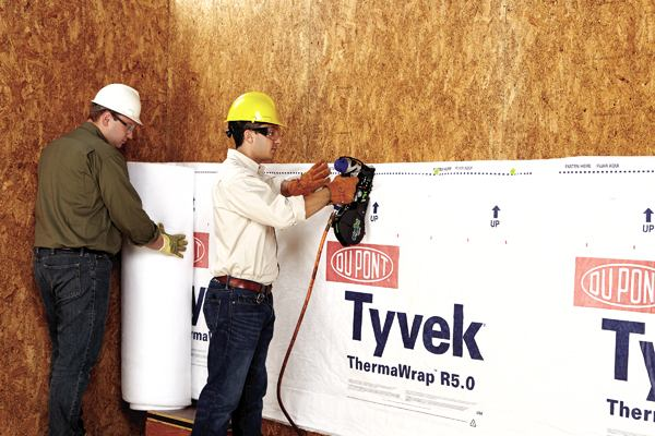 DuPont Launches Industry First Tyvek Thermawrap R50