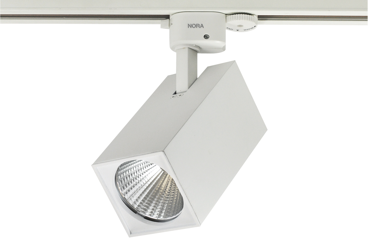 nora lighting track head. jason led tracklight by nora lighting | architectural magazine products, luminaire, lighting, manufacturers, track head u