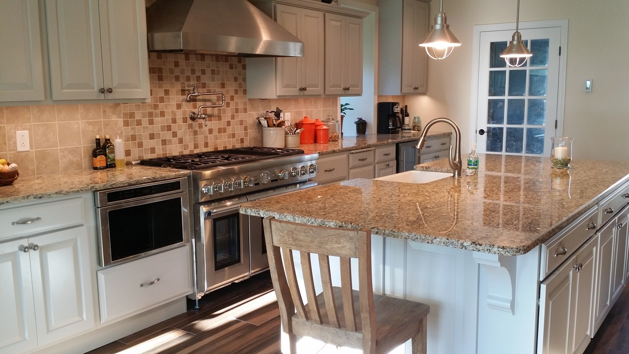 A kitchen makeover with a family connection remodeling for A kitchen connection