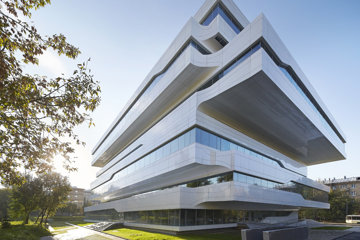 Dominion office building architect magazine zaha hadid for Local residential architects near me