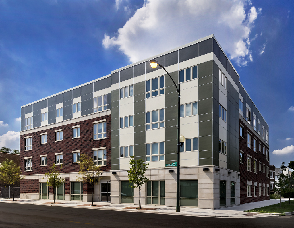 Chicago development brings accessible adaptable housing for Handicapped housing
