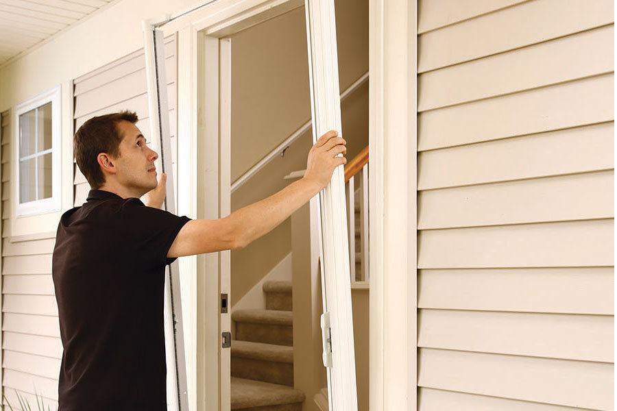 Odl brisa retractable screen door jlc online doors odl for Brisa retractable screen door