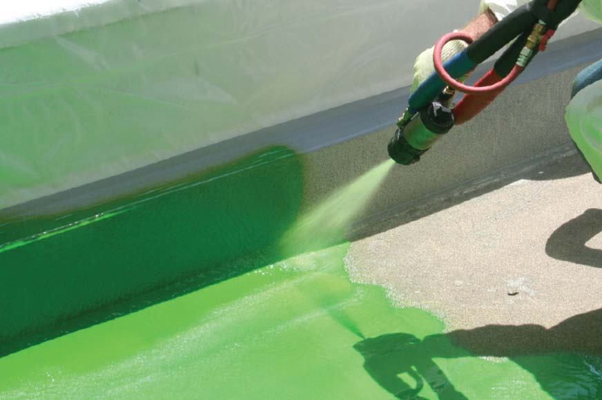 Green Roof Waterproofing System From Dow Hyperlast