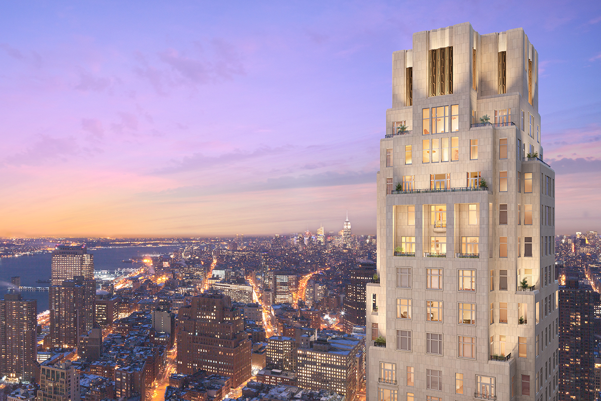 30 park place architect magazine robert a m stern for Top residential architects nyc