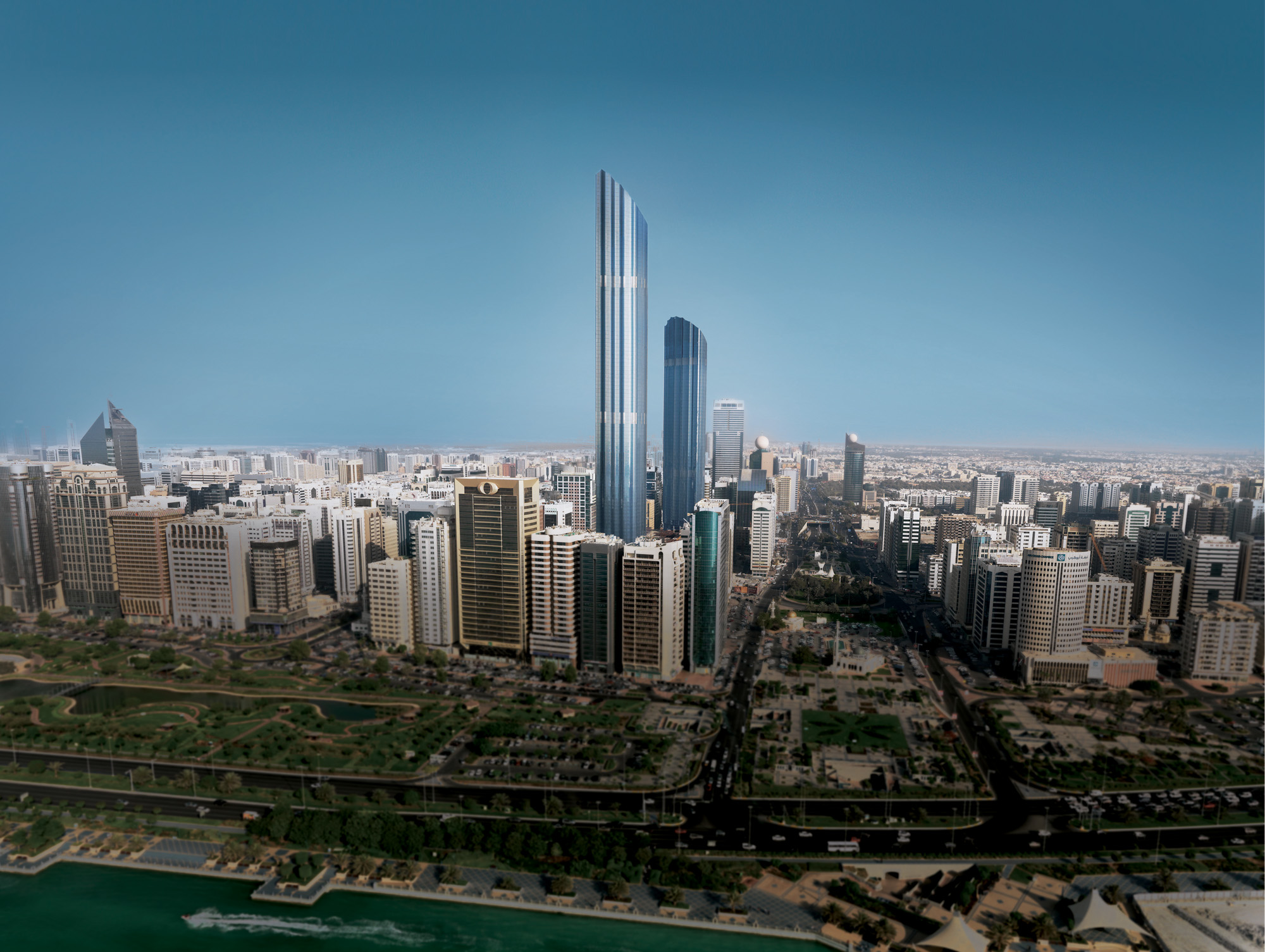 Burj Mohammed Bin Rashid Tower Architect Magazine
