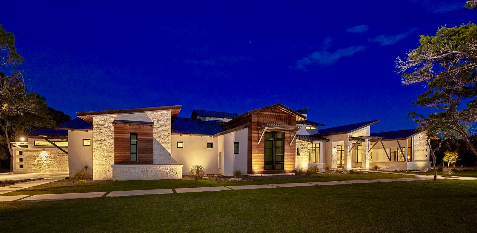 Texas Hill Country Contemporary Architect Magazine Todd Glowka Builder I