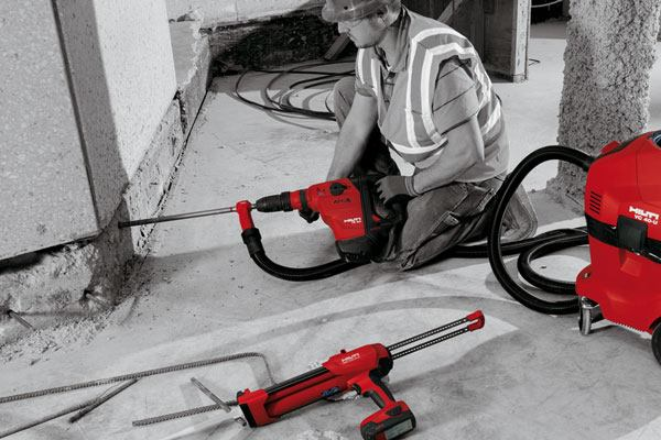 Hilti Hit Hy 200 Adhesive Anchor System Concrete Producer