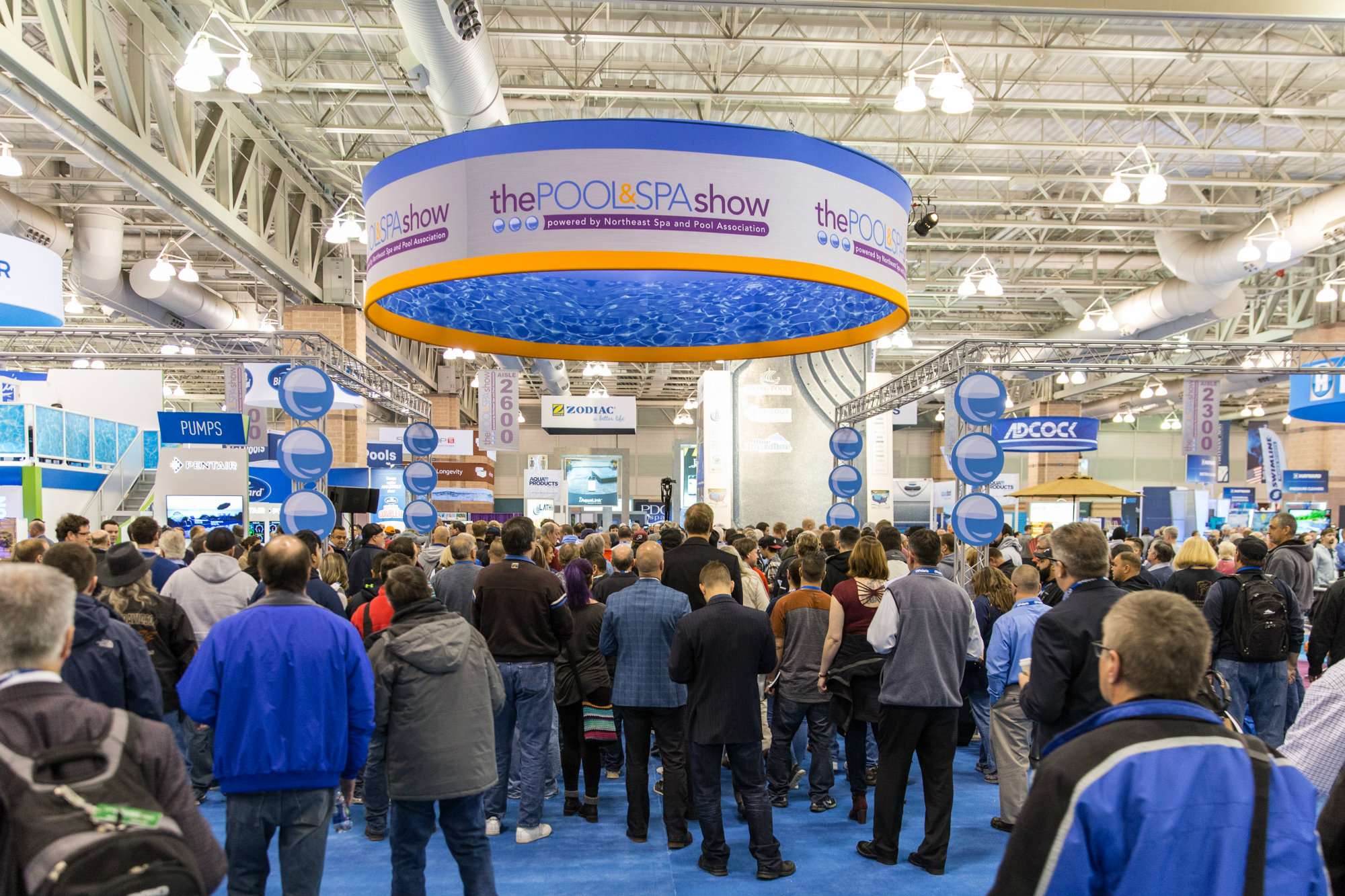 Northeast show sees positive start to 2017 pool spa for Pool show new jersey