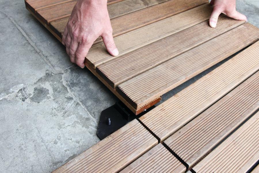 Portable Deck Squares : Deckwise portable deck squares professional builder