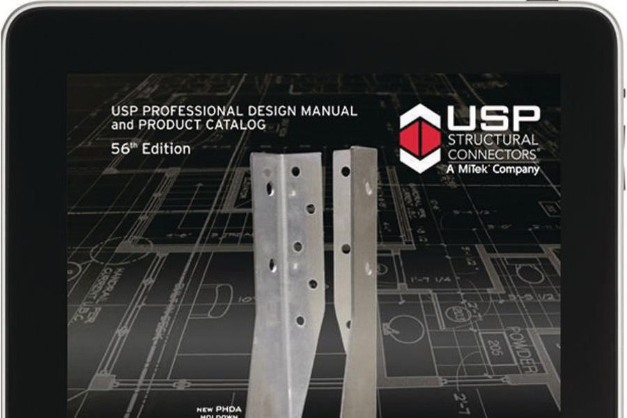 Usp Structural Connectors Catalog Available On Ipad
