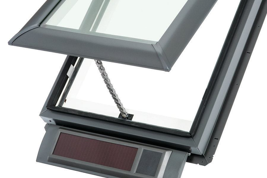 Fresh Air Skylight By Velux Builder Magazine Solar