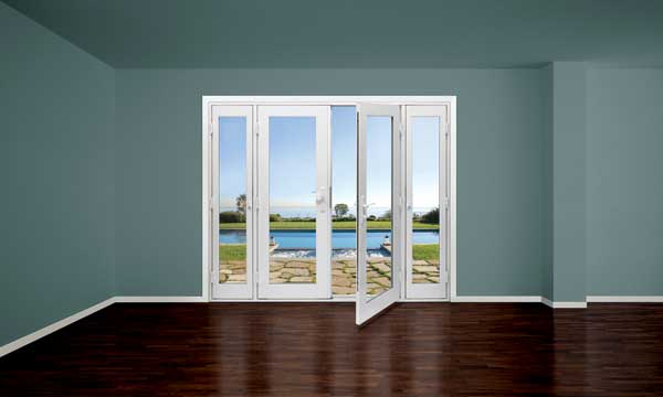 Milgard Vinyl Swinging Patio Door Prosales Online
