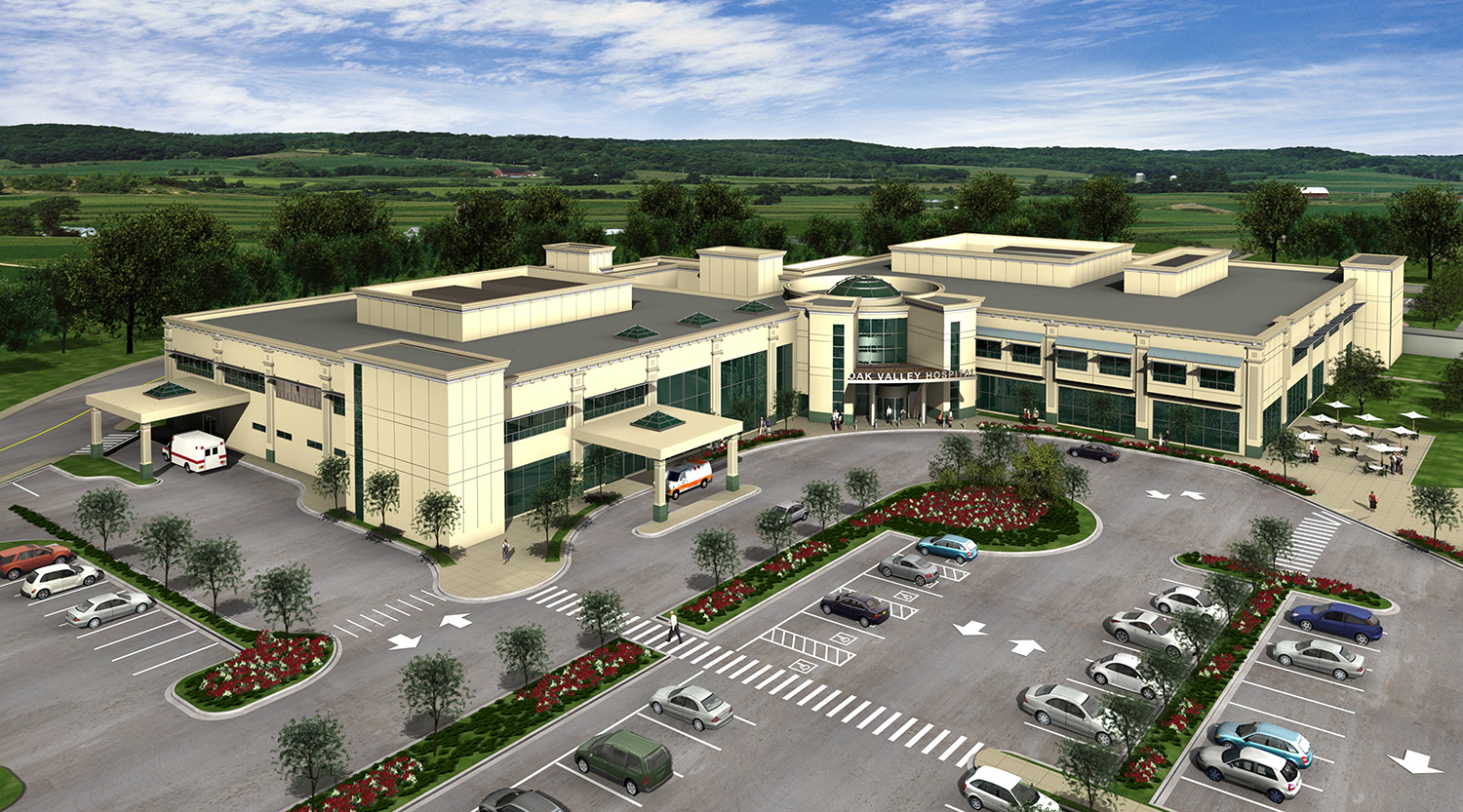 Big Valley Ford >> Oak Valley District Replacement Hospital | Architect Magazine | Moon Mayoras Architects, Inc ...