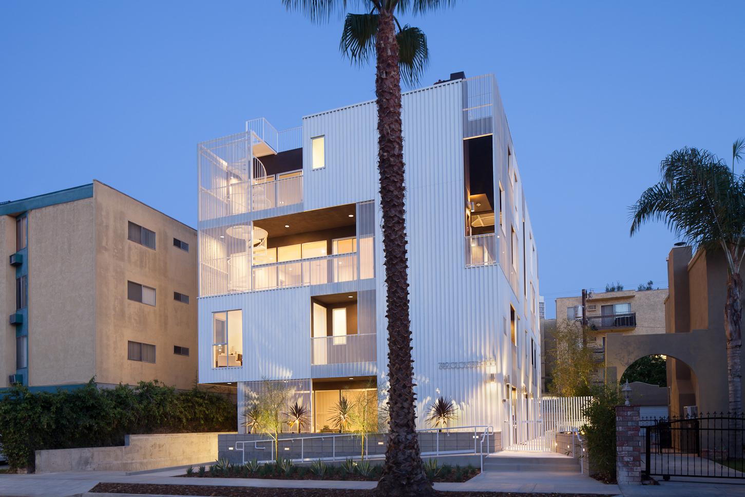 Cloverdale749 architect magazine lorcan o 39 herlihy - Residence calistoga strening architects californie ...