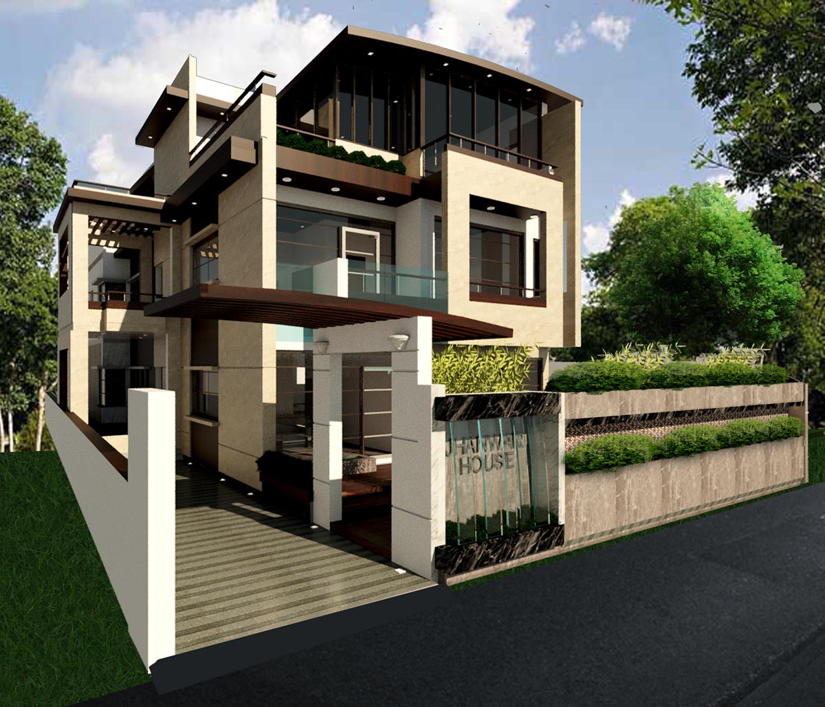 Front Elevation Of House In Jodhpur : Stone house architect magazine design atelier jodhpur