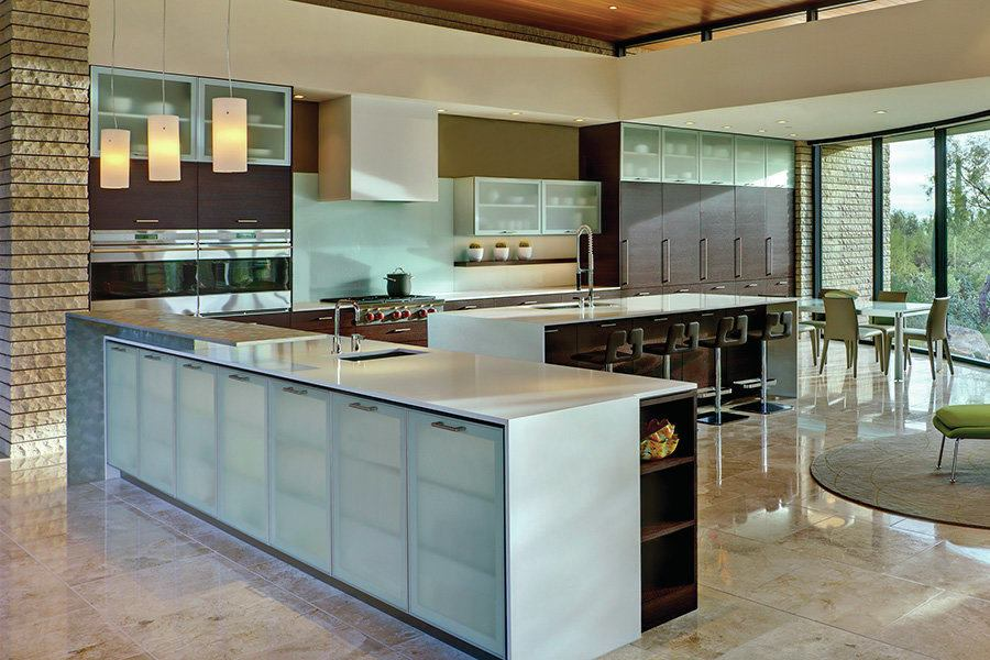 Pima canyon residence tucson ariz custom home for Kitchen design tucson
