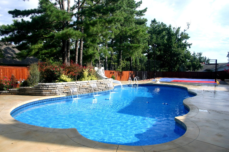 Arkansas pool builder shares tips for overcoming bad for Top pool builders