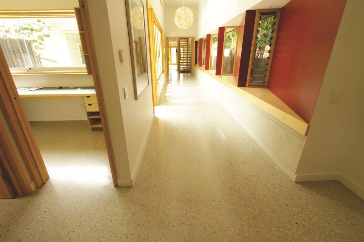 Hill End Ecohouse | Concrete Construction Magazine | Polishing ...