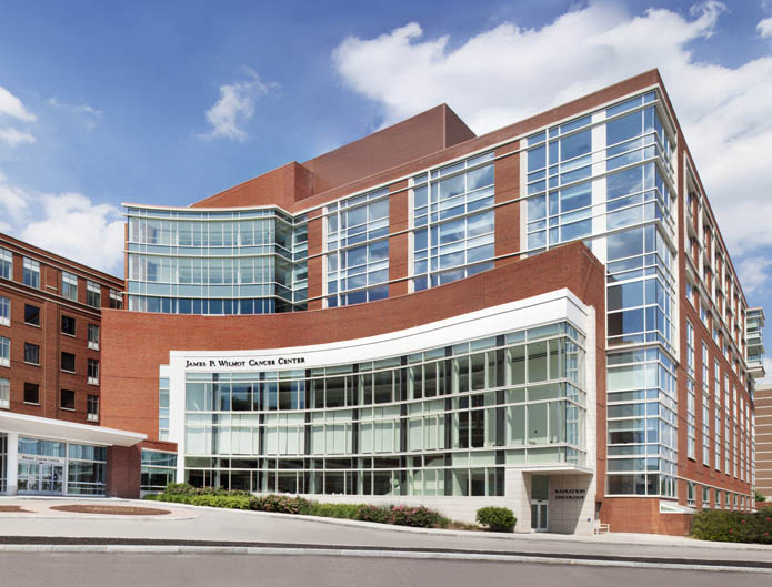James P Wilmot Cancer Center Architect Magazine Blair