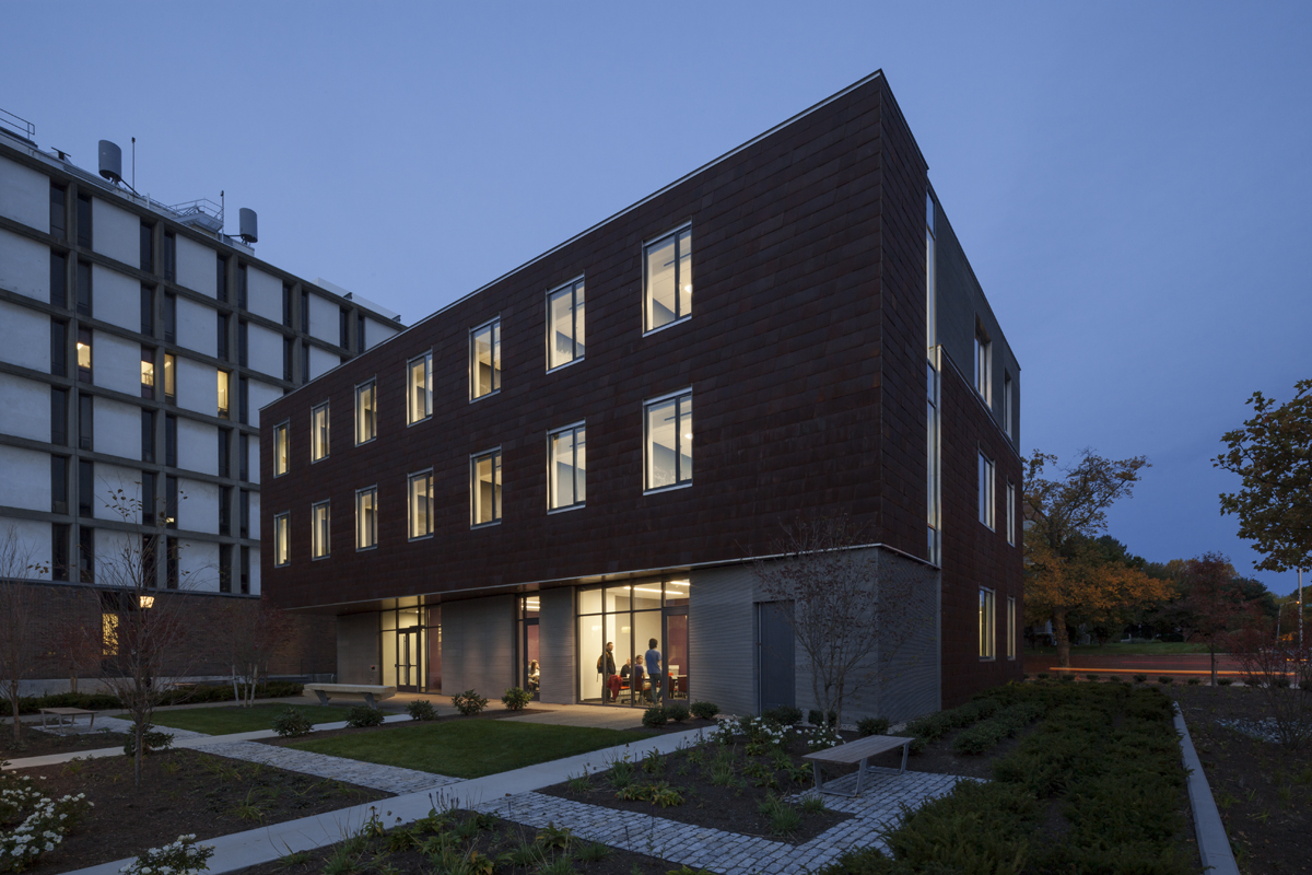 Brown university applied math building architect R house architecture research office