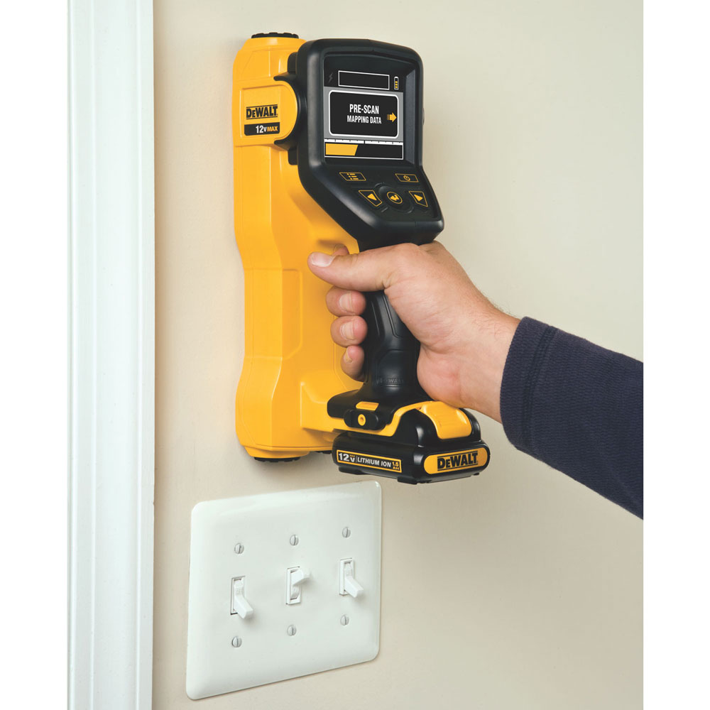 Lithium Ion Hand Held Wall Scanner Concrete Construction
