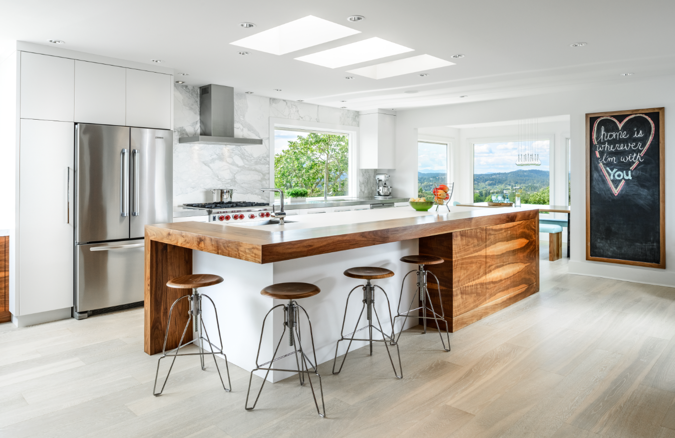 Five forward looking kitchens for 2016 builder magazine for Kitchen images 2016