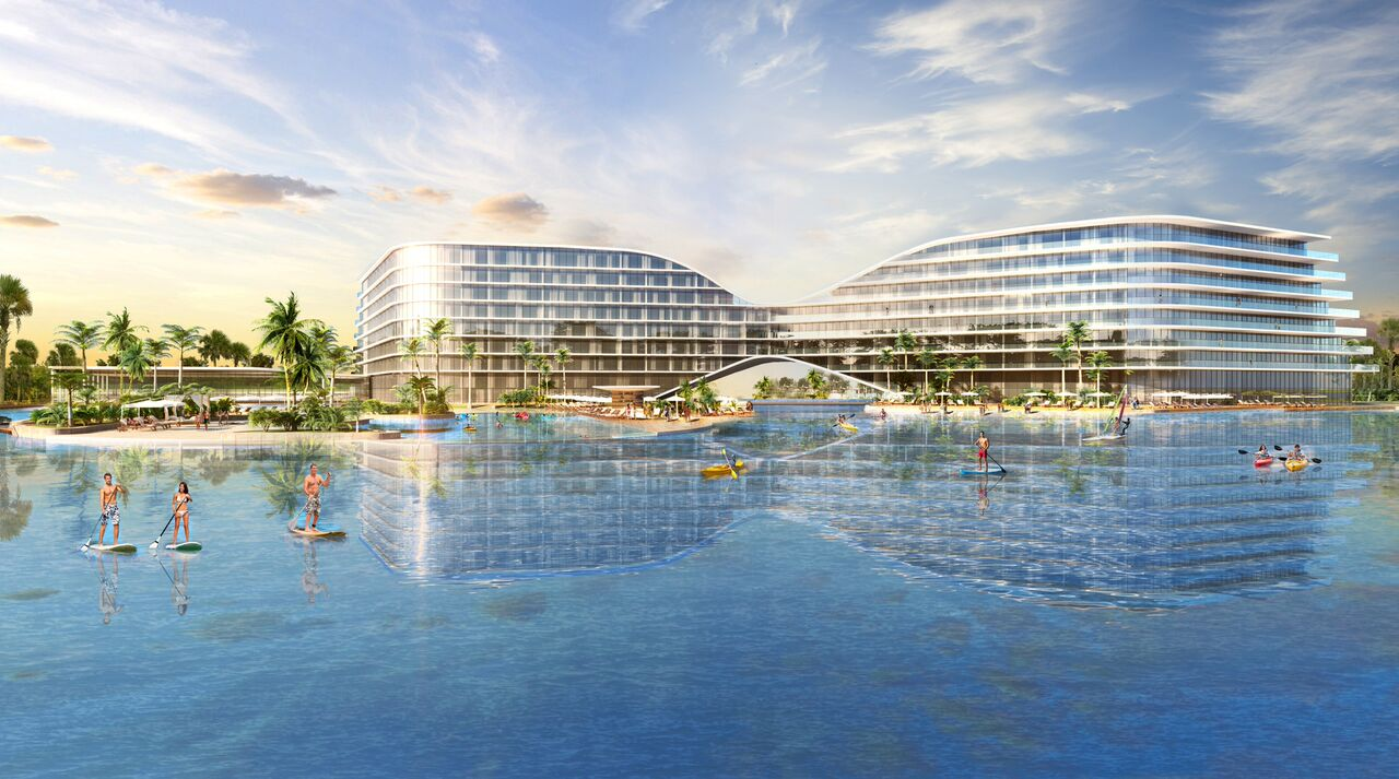 Crystal Lagoon Planned For Lake Nona Builder Magazine