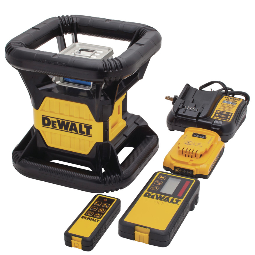 Dewalt Green Rotary Laser Level Tools Of The Trade
