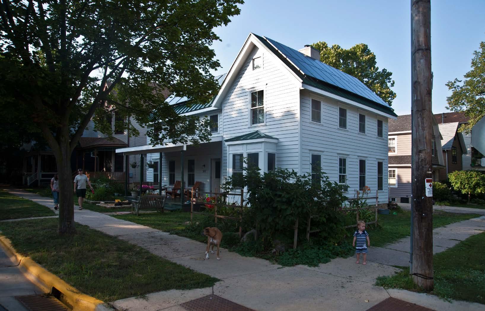 Farmhouse In The City Architect Magazine Kee Architecture Madison Wi United States