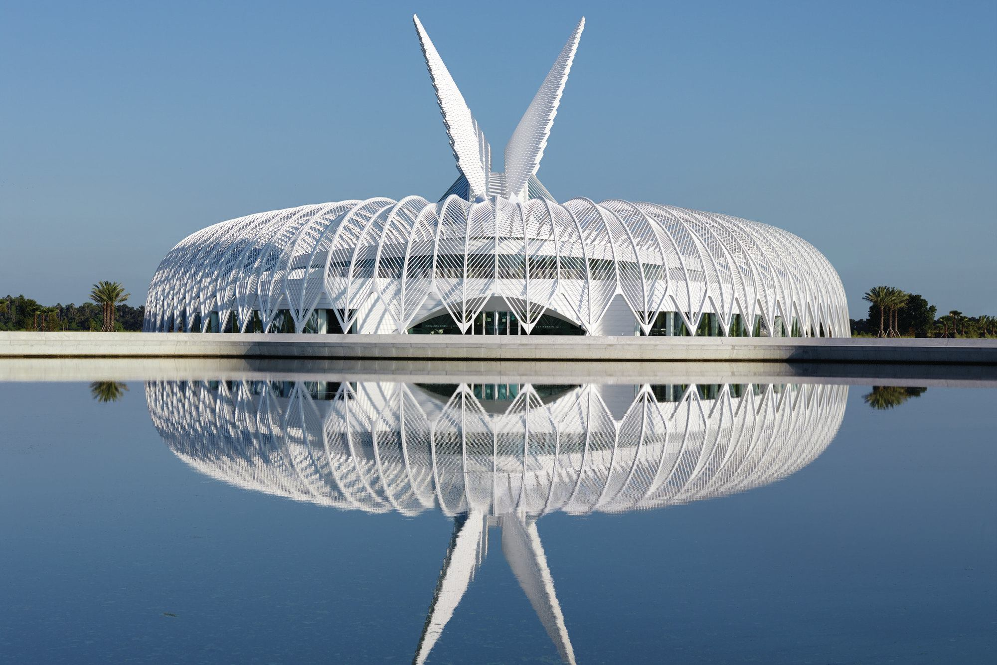 Florida polytechnic university designed by santiago Architect florida