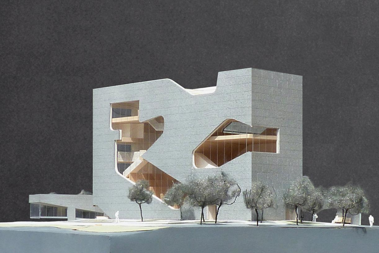 Hunters Point Community Library Architect Magazine Steven Holl Architects New York Ny Usa