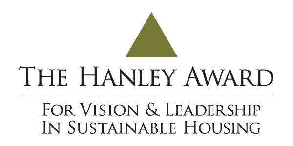 The hanley award for vision and leadership in sustainable for Hanley wood logo