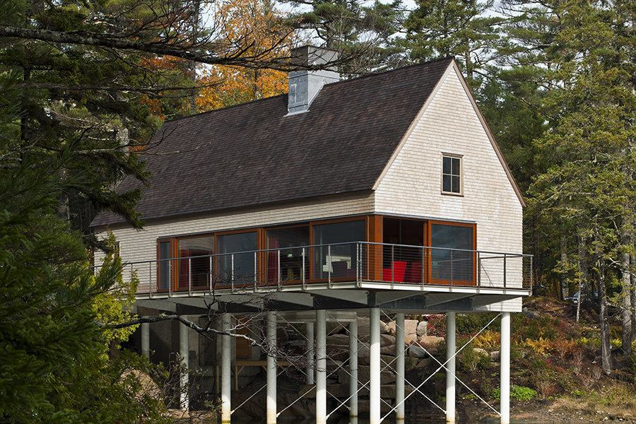 Pond House Mount Desert Maine Custom Home Magazine