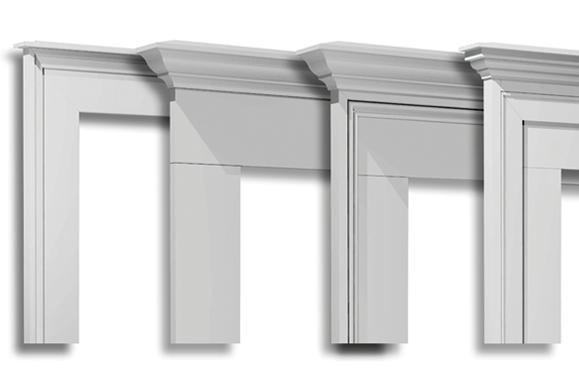 Stylish Pvc Window And Door Trim Jlc Online Molding