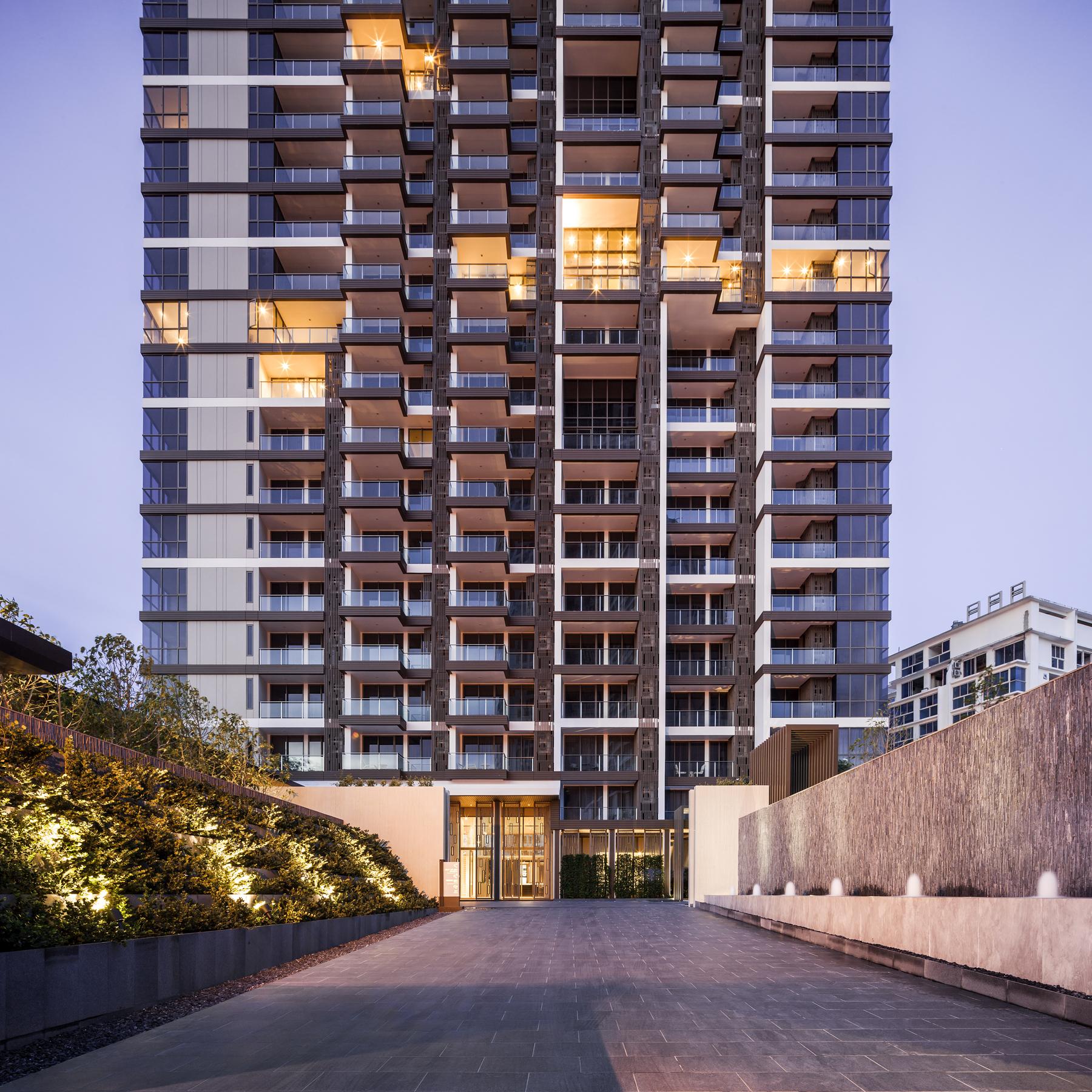 Baan plai haad condominium thailand architect magazine for Thailand architecture