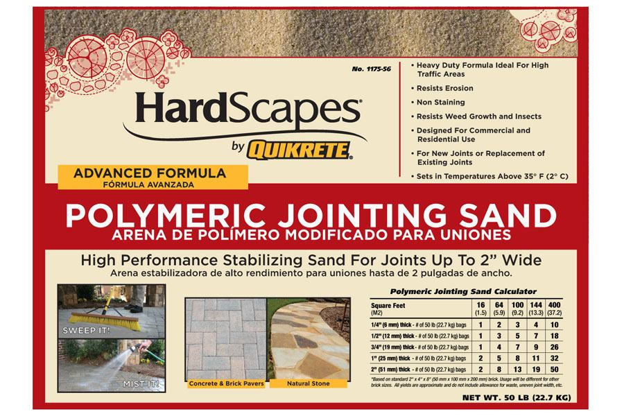 Quikrete HardScapes Polymeric Jointing Sand| Concrete Construction Magazine  | Products, Las Vegas Paradise, NV, World Of Concrete, Nevada