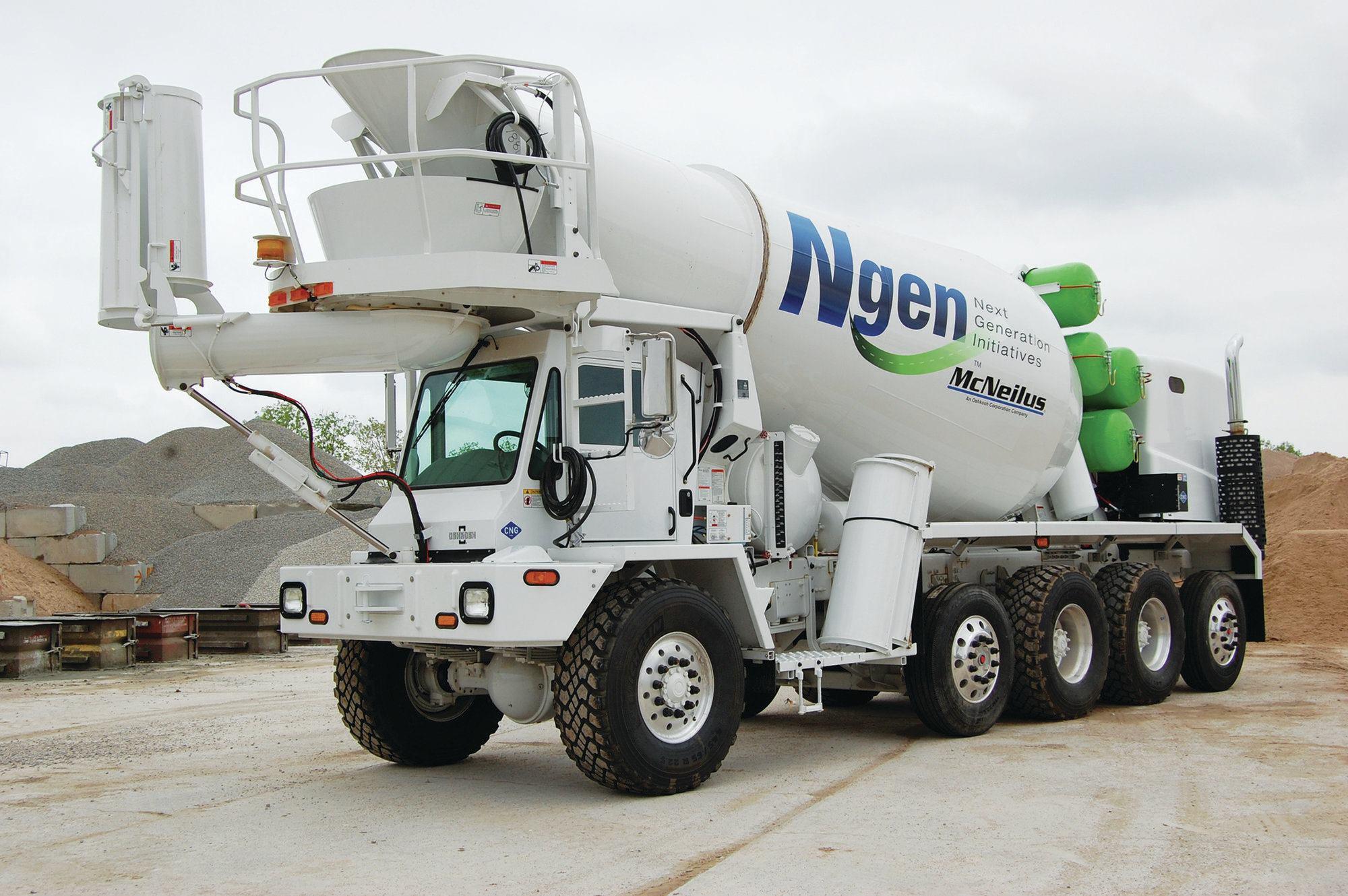 Front Load Mixer ~ Mcneilus companies inc oshkosh s series concrete