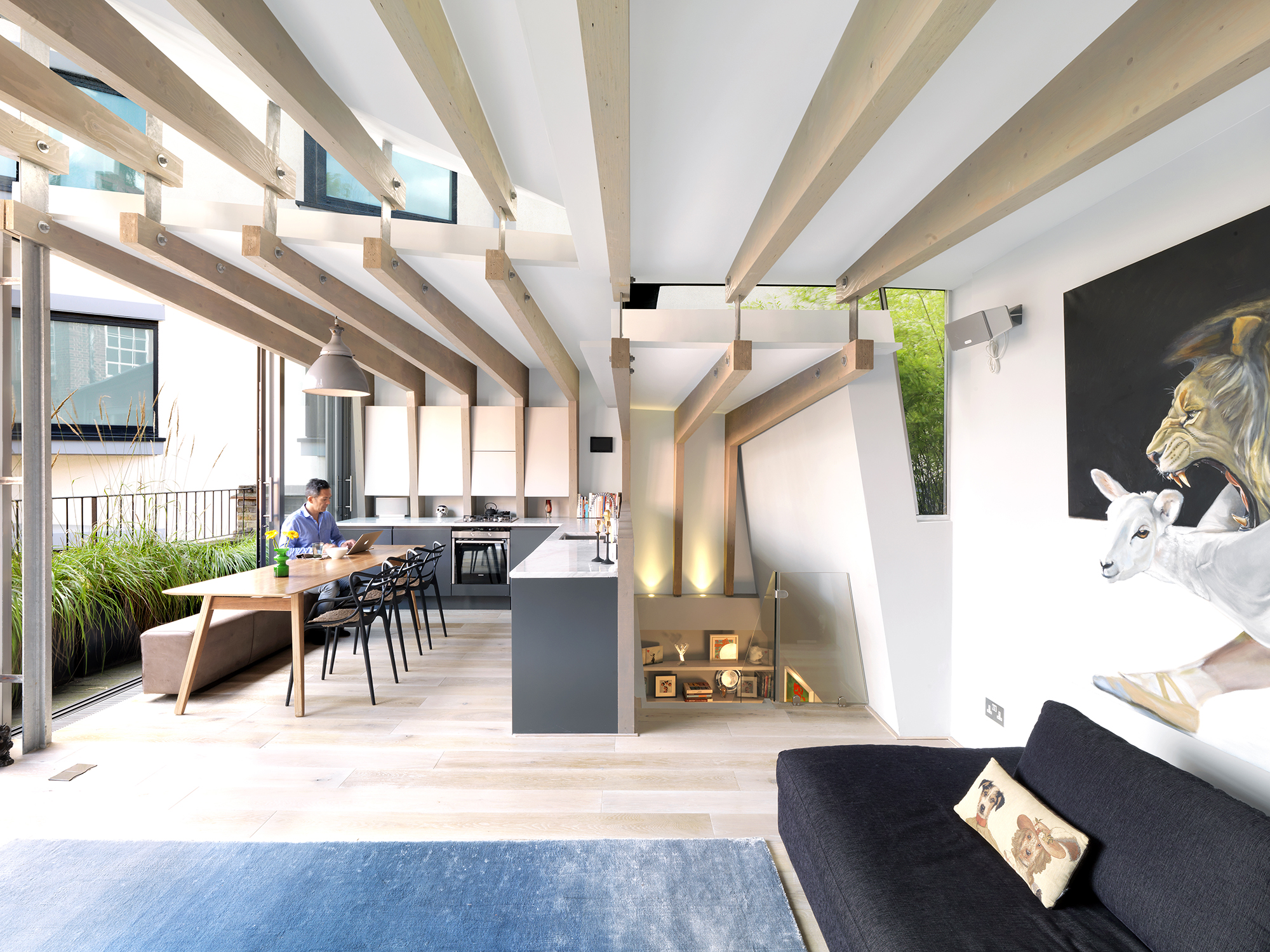 Shoreditch loft architect magazine levitate london for Household design shoreditch