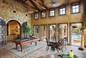 Hill Country Custom Home Magazine Design Residential Projects HVAC Ext
