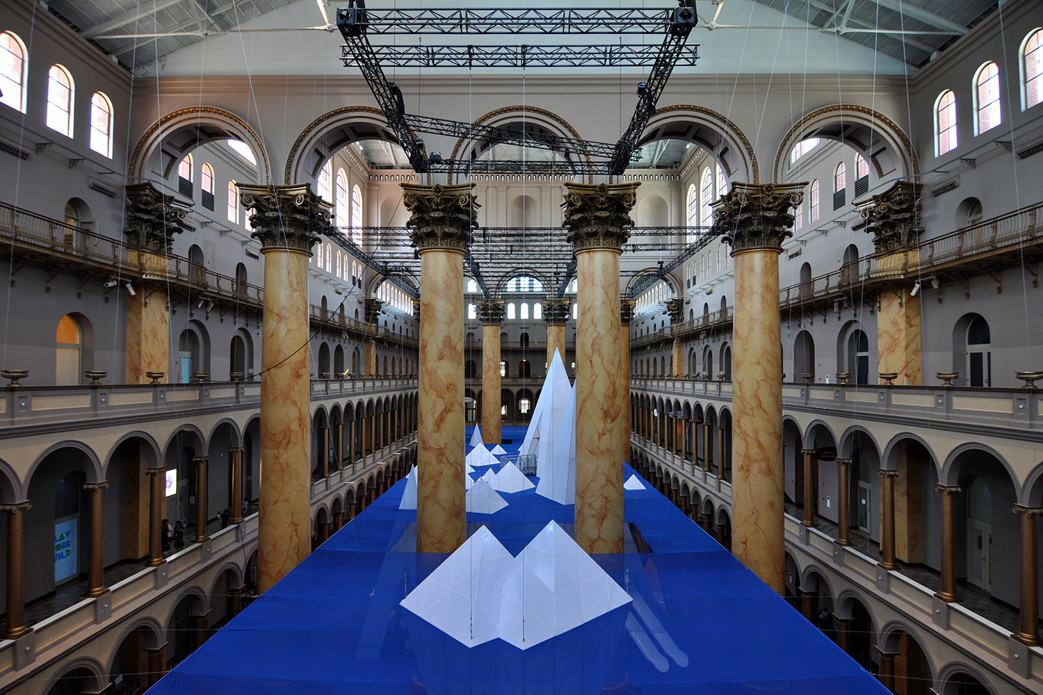 Faux Icy Underwater World Opens at National Building ...