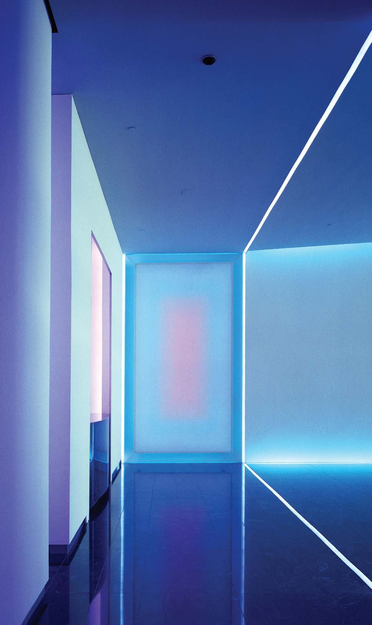 Neon Light Installation