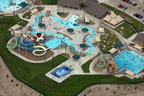 Cascade Falls Aquatic Center Aquatics International