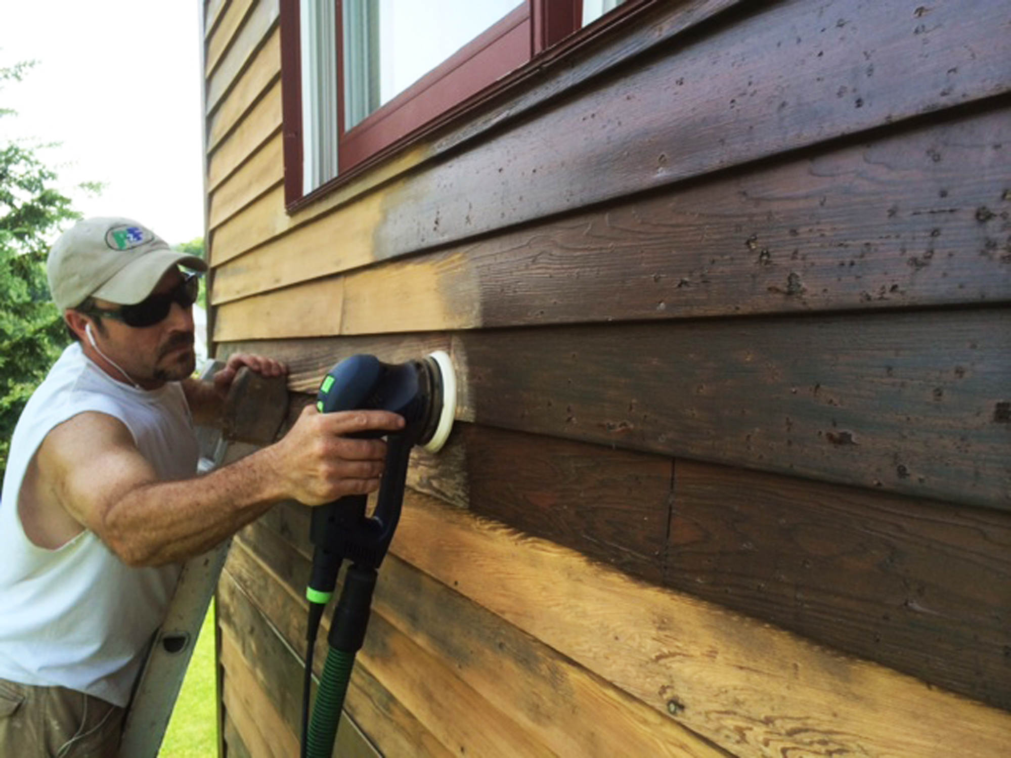 Refinishing A Hail Damaged Home Jlc Online Painting