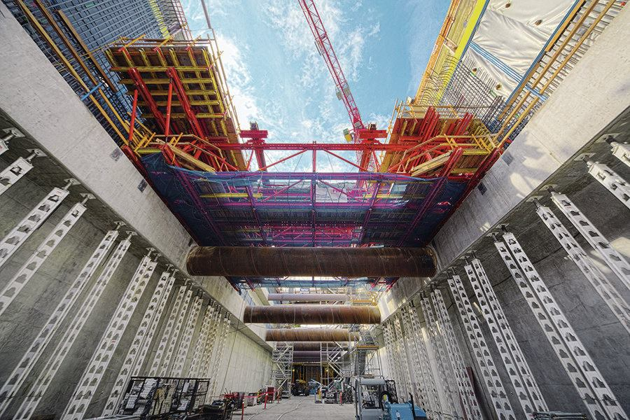 Capitol Hill Station Concrete Construction Magazine