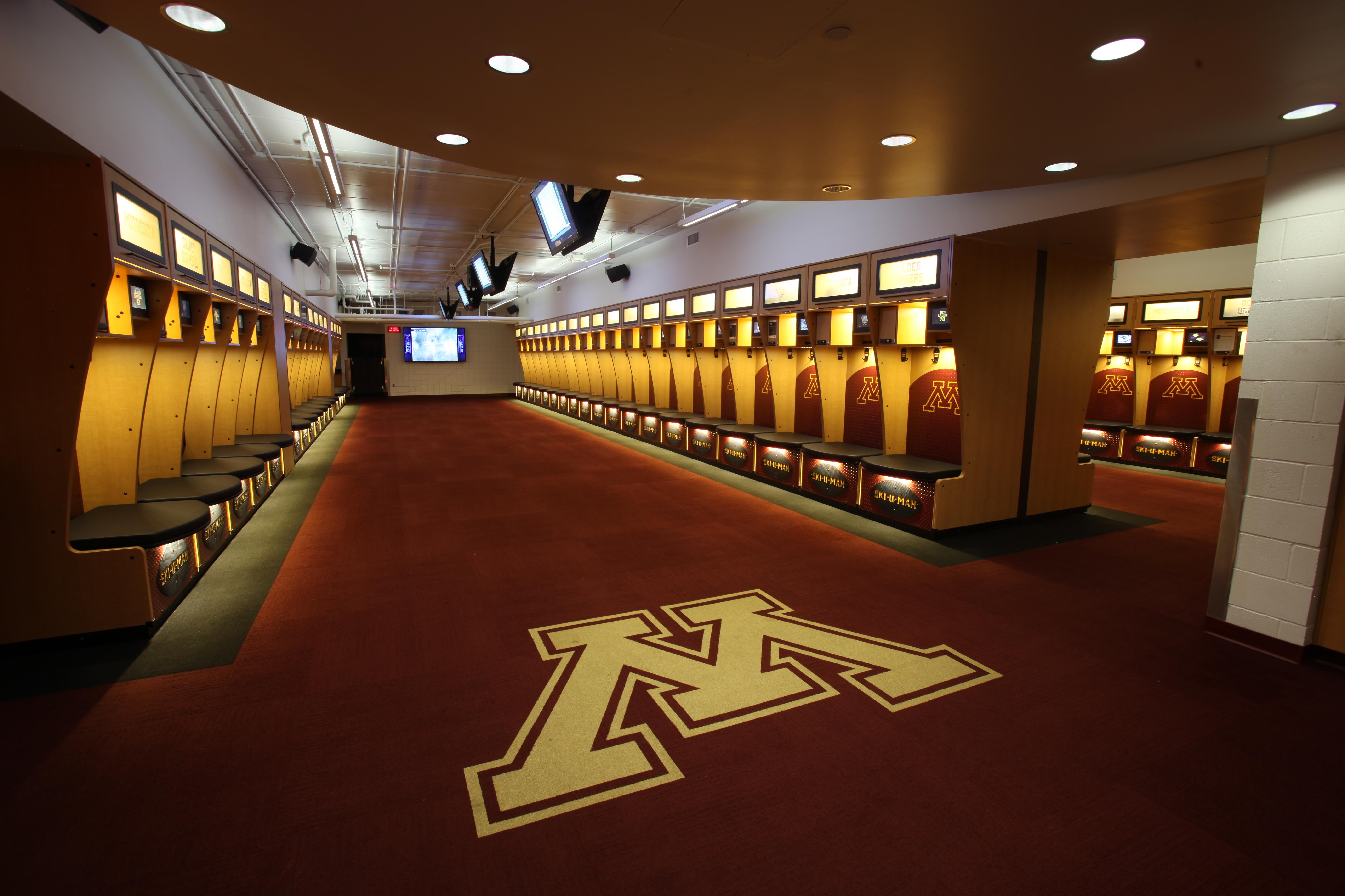 University Of Minnesota Football Locker Room Architect